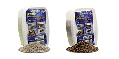 Különféle mikro pellet mixek.